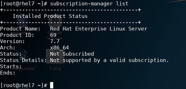 Activation RHEL 7 (Red Hat Enterprise Linux 7)